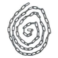 Litec 1m GALVANIZED CHAIN 4x12mm